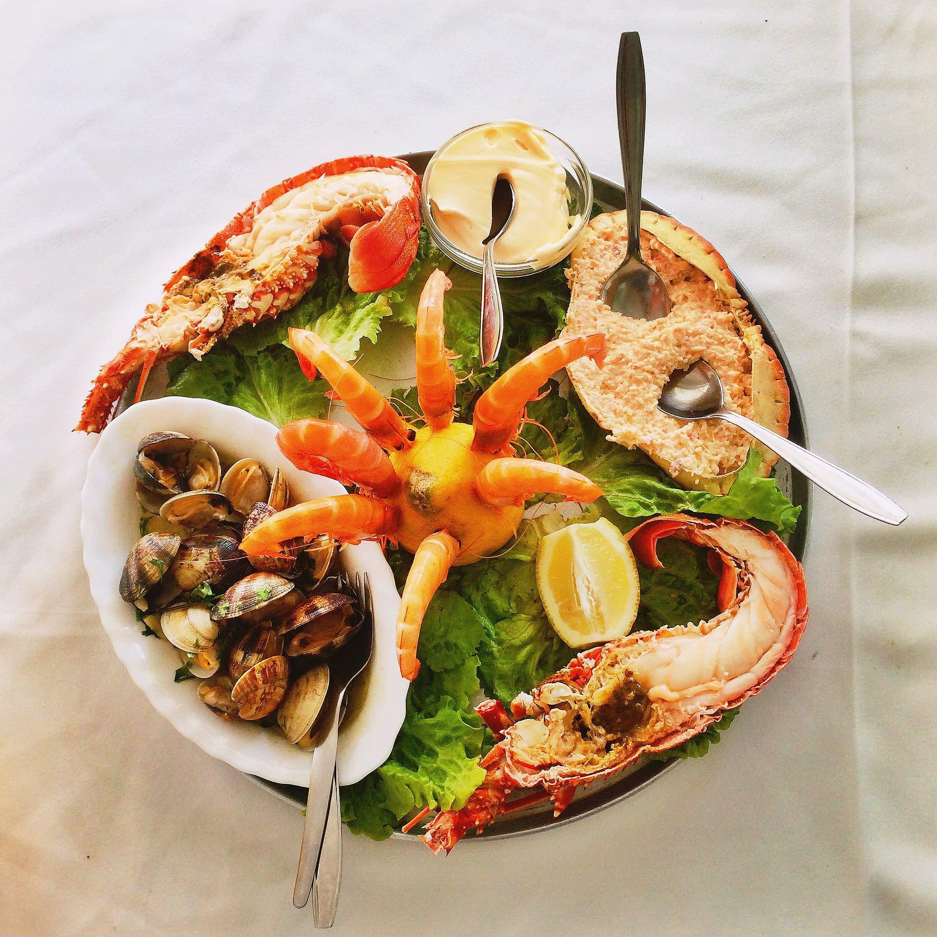 Restaurants de Fruits de mer