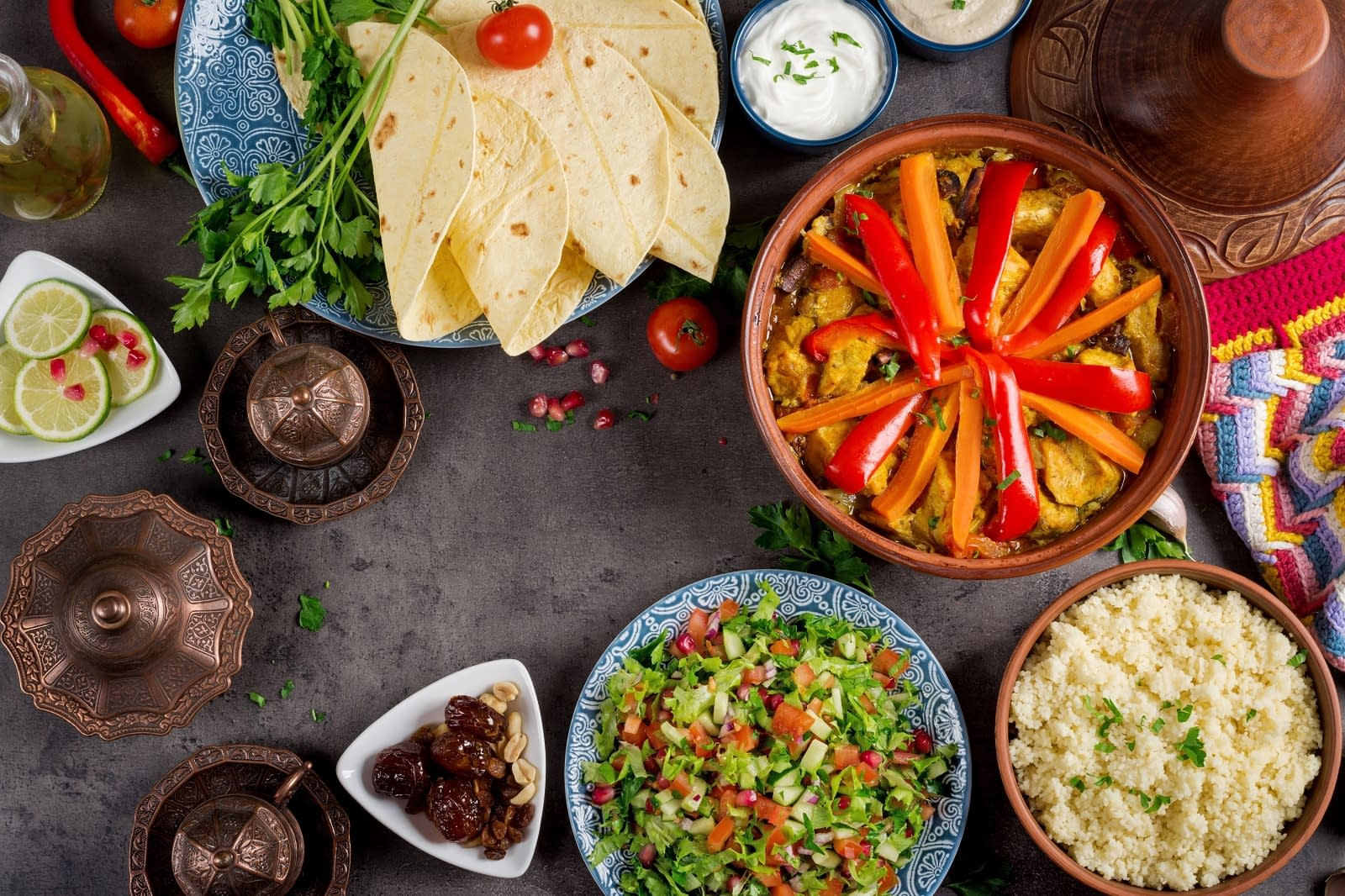 Restaurants Marocains