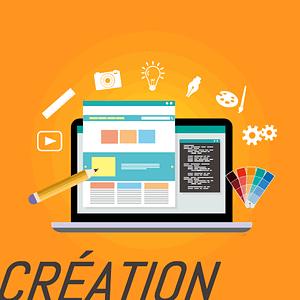 Création graphique avec option intégration html responsive