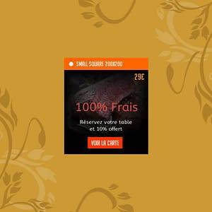 Création de bannières pour sites web 200×200