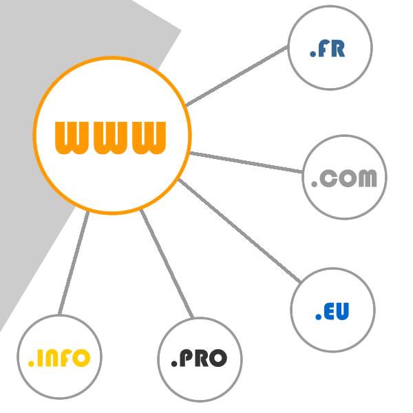 noms de domaine agence web buziness