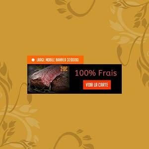 Création de bannières pour sites web 320×100