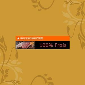 Création de bannières pour sites web 320×50