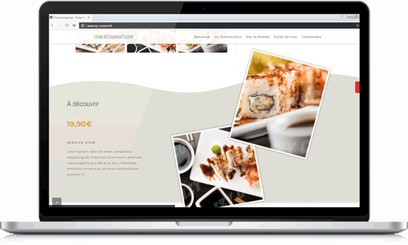 creation site web start agence web buziness